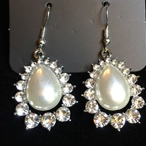 Paparazzi Pearl White Earrings
